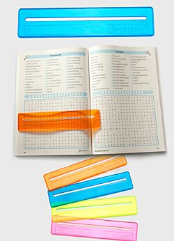 Find ord lineal blå